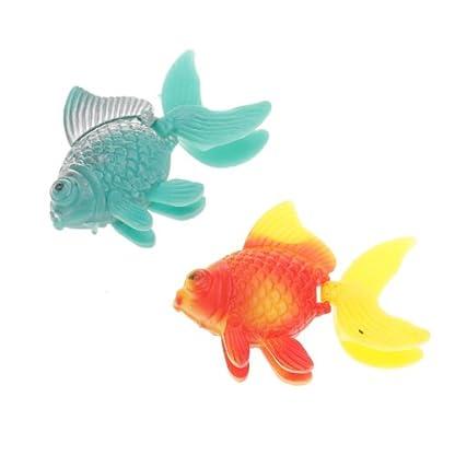 5pcs Plastic Artificial Fish Ornament for Fish Tank Aquarium 4