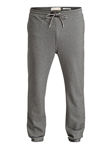 Quiksilver Lambert Sweeps - Pantallan De Chandal Tipo Chino para Hombre, Color: DARK GREY HEATHER, Talla: M