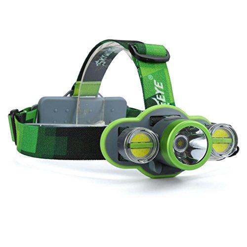 Koly 15000LM XM-L T6 + 2X COB LED recargable 18650