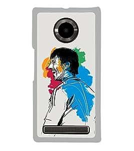 PrintVisa Smiling Colors High Gloss Designer Back Case Cover for YU Yuphoria :: YU Yuphoria YU5010