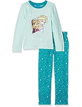 FABTASTICS Frozen Eiskönigin Mädchen Schlafanzug im Set