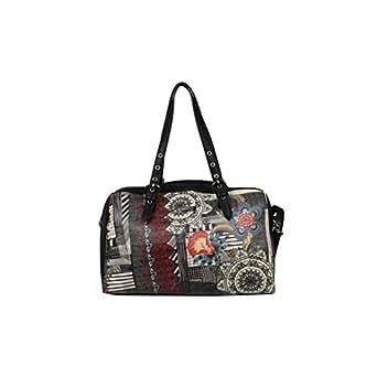 Sac Bowling Smash Noir et Multicolore BUZZ Simili Cuir A1521510