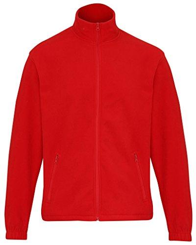 MAKZ Herren Mantel Rot - Rot