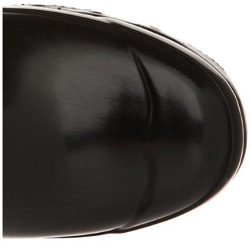 Hunter Original Short Gloss W23700 Unisex-Erwachsene Gummistiefel Schwarz (Black)