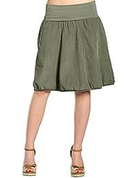 Suchergebnis auf Amazon.de für  damen rock oliv - Grün  Bekleidung 9674348b40