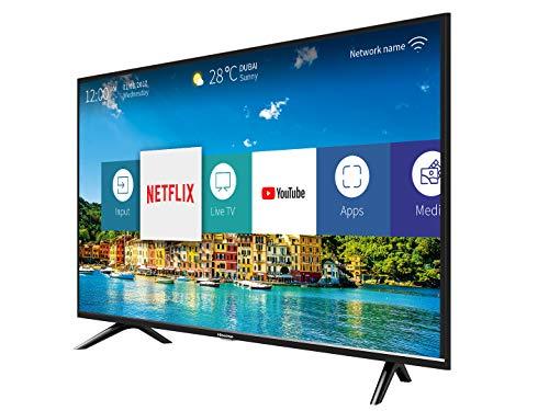 41B6t4q0XeL - Hisense H40B5600 - TV 40' FullHD Smart TV, 2 HDMI, 2 USB, Salida óptica y de Auriculares, WiFi n, Audio DBX, Procesador Quad Core, Smart TV VIDAA U 2.5.