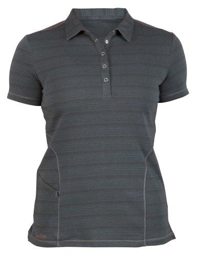 Zoic Damen Collins Radbekleidung, Damen, Dark Grey Stripe -