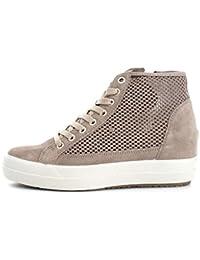 7787 BEIGE Scarpa donna sneaker Igi&co pelle made in italy cfA5K7Gq6