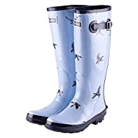 Rydale Junior Wistow Animal Print Patterned Wellingtons Children