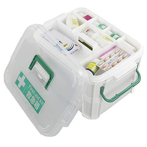 41B6wI cIAL - Dynko Botiquín de Primeros Auxilios, Caja de Almacenaje, Plástico Caja Para Botiquin
