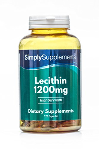 Lecithin 1200mg - 120 Kapseln - SimplySupplements