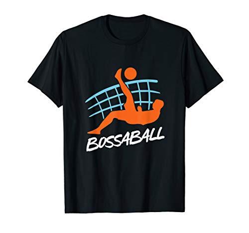 Spanisch Bossaball Team Sport Ball Spiel Bossaball Spieler T-Shirt
