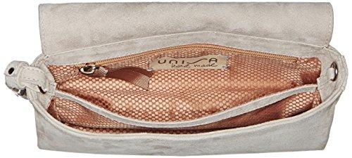 Unisa Zdream_17_ks, Clutch Donna, 6x10x22 cm (B x H x T) Grigio (FOG)