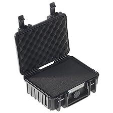 Outdoor Case with Sponge Insert f/ Camera, 2L, Black