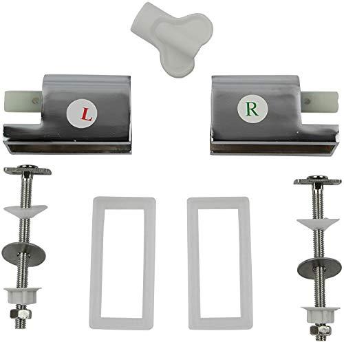 P.M. Absenkautomatik mit Montageset für Duroplast WC Sitze Ersatz