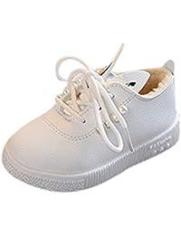 MCYs Baby Perlen Ohren Sneaker Mädchen Warme Weiche Rutschfeste Einzelschuhe Winterschuhe Boots für Kinder Baby