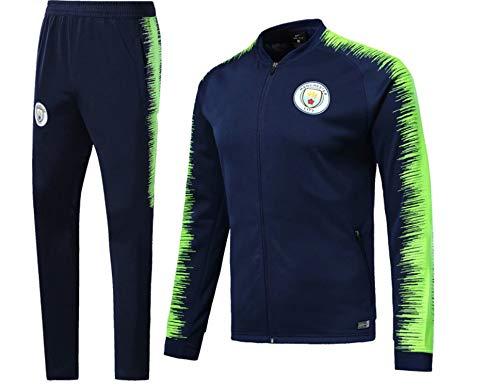 Shi18sport Club Langarm Trikot Fußball Uniform Anzug Team Spielen Wettbewerb Trainingsanzug, 2, XL