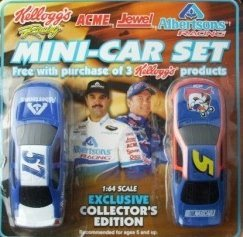 kelloggs-stock-car-and-albertsons-stock-car-mini-two-car-set-by-summit