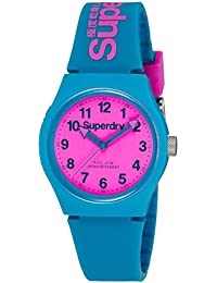 Superdry Analog Pink Dial Unisex Watch - SYG164AUP
