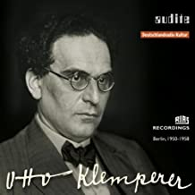 audite edition Otto Klemperer (1stMaster Release: RIAS recordings from Berlin, 1950 - 1958)