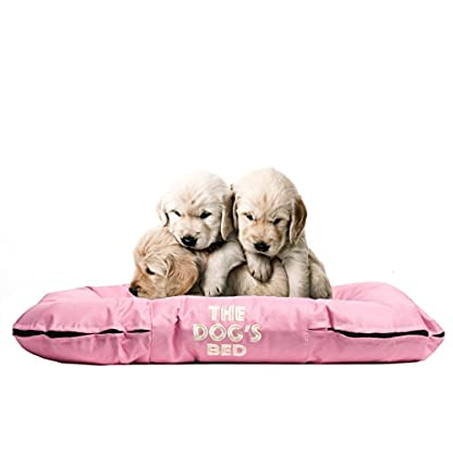 The Dog's Bed, Premium Waterproof Dog Bed, Med 80x60cm, Tough YKK Zippers, Washable Durable Cover 7