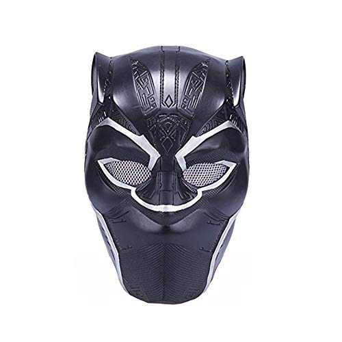 GDSZ Black Panther Masken Cosplay Latex Maske Helm -