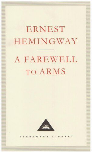 a farewell to arms a classic A farewell to arms by hemingway, ernest new york: macmillan/ scriibner's, 1957 good mass mkt sm paperback c 1957- looks like 1980's- '90's reprint.