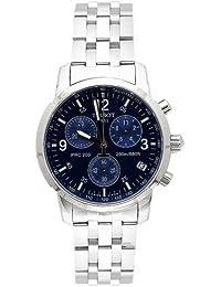 Tissot Men's T-sport PRC200 Blue Face Chronograph Watch - T17158642