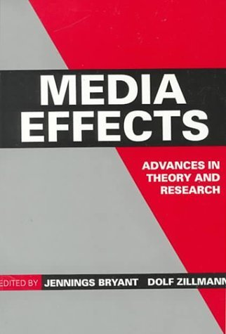 Media Effects: Advances in Theory and Research (Routledge Communication Series) by Routledge (1994-01-03)