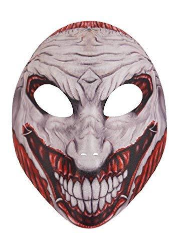 Blue Banana Máscara Siniestra Joker (Gris/Rojo)