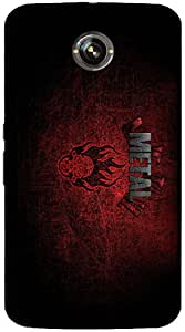 Timpax protective Armor Hard Bumper Back Case Cover. Multicolor printed on 3 Dimensional case with latest & finest graphic design art. Compatible with Google Nexus-6 Design No : TDZ-24815