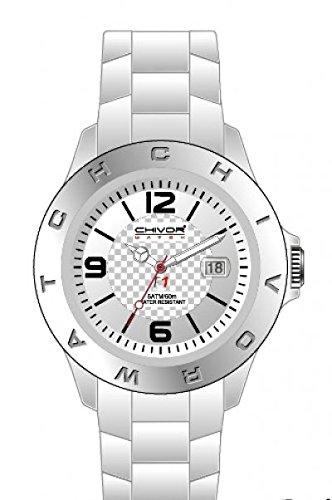 Just Watches 48-S3862-RD - Orologio da polso unisex, cinturino in caucciù colore rosso