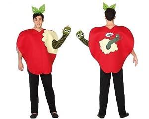 Atosa 26686 - manzana, Hombres traje, tamaño 50/52, rojo/verde