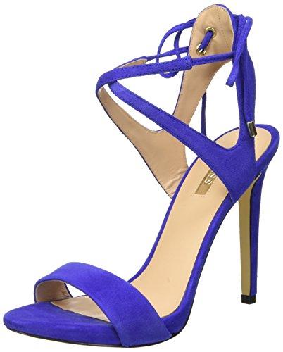 Guess Alisse Sue03, con Cinturino alla Caviglia Donna, Blu, 37 EU