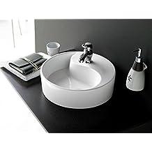The Bath Collection - Lavabo redondo yin yang 40x14 cm