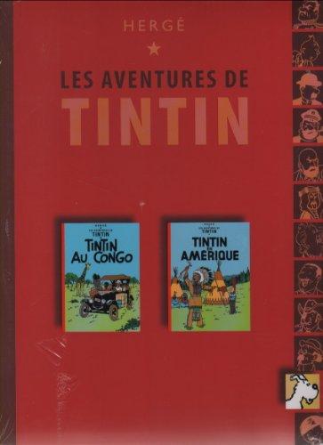 Tintin au Congo & Tintin en Amérique Tintin (Éditions France loisirs, collection duo) Tome 5
