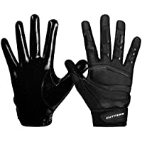 ‏‪Cutters Receiver Football Gloves - Rev Pro Football Gloves - Boost Performance With the Best Grip Gloves and Stitching - Youth & Adult Sizes - 1 Pair‬‏