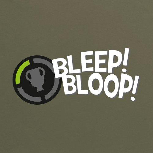 Achievement Bleep Bloop T-Shirt, Herren Olivgrn