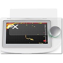 atFoliX Film Protecteur Convient pour Vorwerk Thermomix® TM6®, Film Protection d'écran Revêtement antireflet HD FX Protection d'écran (2X)