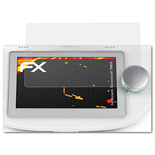 atFoliX Schutzfolie passend für Vorwerk Thermomix® TM6®, Displayschutzfolie HD-Entspiegelung FX Folie (2X)