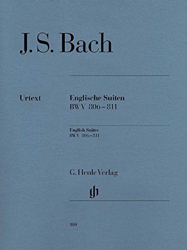 Suites Anglaises BWV806-811 - Piano
