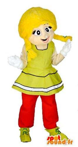 amazon-customizable-mascot-spotsound-of-a-young-blond-braids-wearing-gauloise