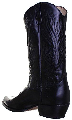 Loblan 194C-bottes Noir Noir - Black Shiny S1Q