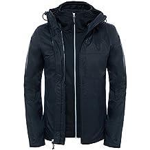 The North Face M Morton Triclimate Jacket - Chaqueta para hombre, color negro, talla XXL