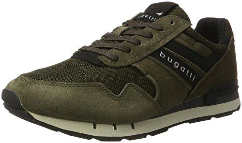 Bugatti 322308013500, Sneakers Basses Homme Vert (Dark Green)