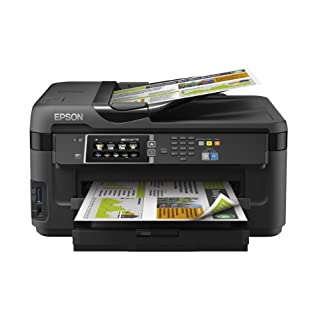 Epson WorkForce WF-7610DWF A3 Double-sided Wi-Fi and AirPrint Printer, Scan and Copy