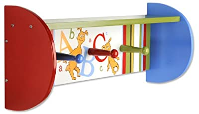 Dr. Seuss ABC Shelf with Pegs