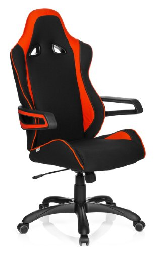 hjh OFFICE 621841 Gaming PC Stuhl RACER PRO II Stoff...