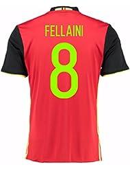 2016-2017 Belgium Home Shirt (Fellaini 8)