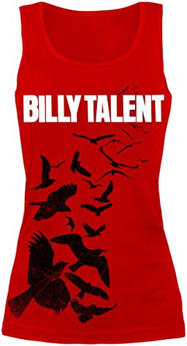 Billy Talent Red Birds Top donna rosso S